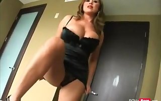 Steaming and super-naughty Milf Stepmother entices her Stepson to have fuck-fest - Point Of View-porno.net